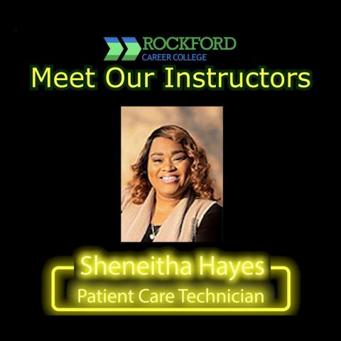 Meet Our Instructor - Sheneitha Hayes